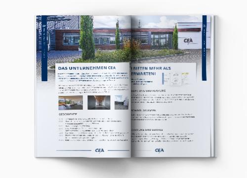 CEA Image Broschüre